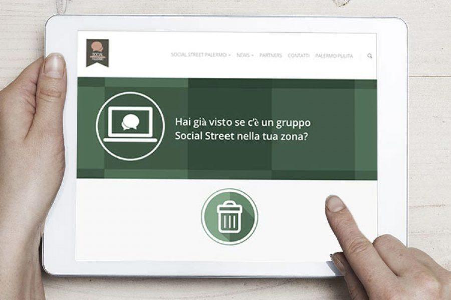 E' online il nuovo sito di #SocialStreetPa